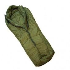 """Спальный мешок """"ARCTIC"""" армии Великобритании с компрессионным мешком, олива, б/у"""