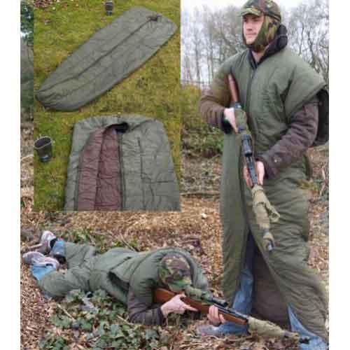 Спальный мешок армии Австрии, олива, б\у