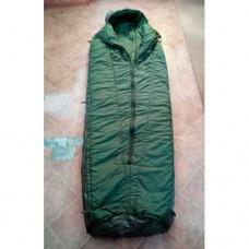 Спальный мешок с водонепроницаемым покрытием армии Великобритании, олива, б/у