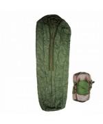 Зимний спальник с компрессионным мешком армии Голландии, олива, б/у хорошее состояние