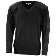 Пуловер тюремной службы Великобритании, черный, новый