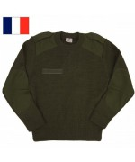 Свитер армии Франции, олива, новый