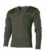 Уценка свитер Бундесвера, олива, как новый