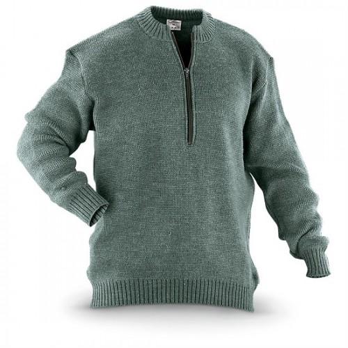 армейский свитер из шерсти