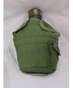 Фляга армии США в термочехле на 1 кварту М-61, олива,б/у
