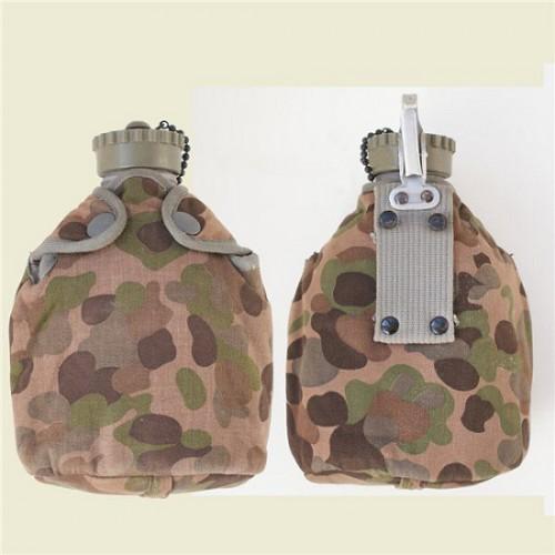 Фляга пластиковая Австрийской армии, fleckerlteppich, б/у