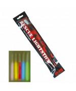 Хис (химический источник света) со свистком rescue lightstick, красный свет