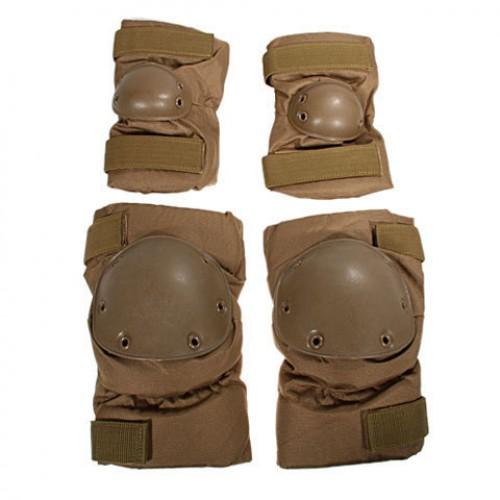 Комплект защиты на колени и локти армии Голландии, койот, новые