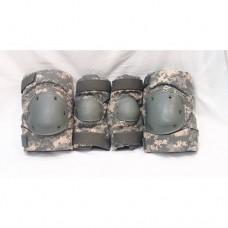 Комплект защиты на колени и локти армии США, At digital, б/у