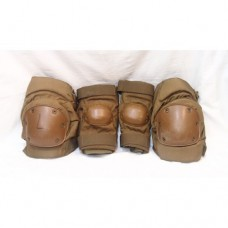 Комплект защиты на колени и локти армии США, койот, б/у