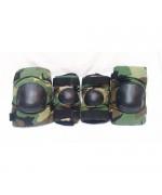 Комплект защиты на колени и локти армии США, woodland, б/у
