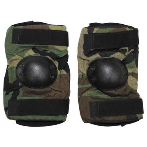 Комплект защиты на локти армии США, Woodland, б/у отличное состояние