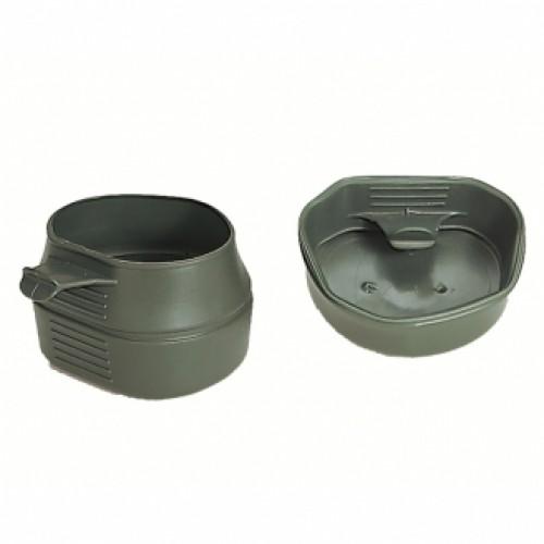 Кружка fold-a-cup® складная 200 мл, олива, новая