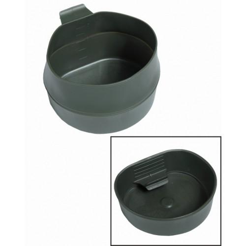 Кружка fold-a-cup® складная армии Швеции 600 мл, олива, новая