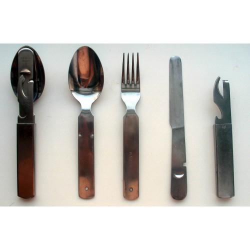 Набор столовых предметов Бундесвера, новый, оригинал
