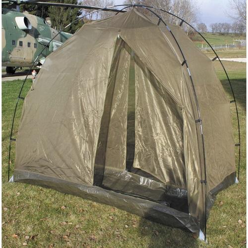 Палатка противомоскитная большая армии Великобритании, олива, новая