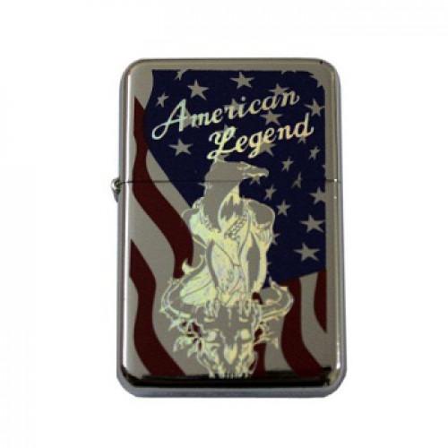 Зажигалка бензиновая American Legend, новая