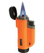 Зажигалка Turboflame® VFlame©, оранжевая, новая