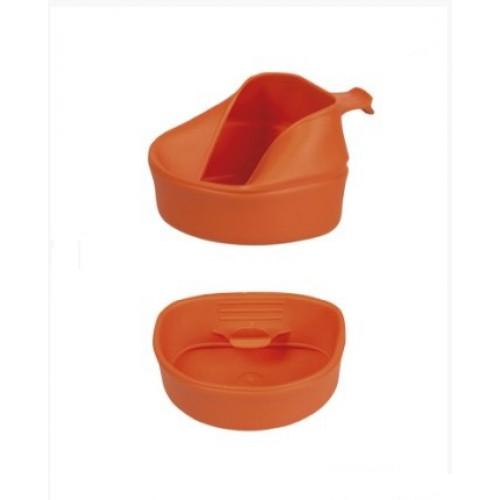 Кружка fold-a-cup® складная 200 мл, оранжевая, новая