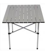 Стол со складной столешницей алюминиевый, новый