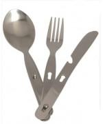Столовый набор 3 предмета ложка, вилка, нож, новый