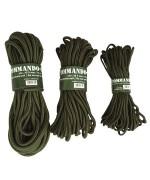 Верёвка COMMANDO 15 м., олива, новая