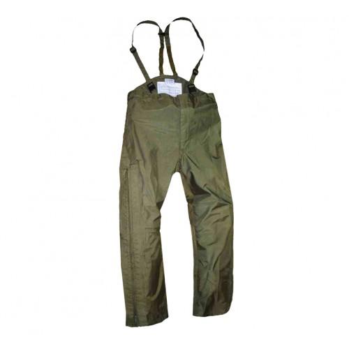 Уценка брюки мембранные армии Австрии, олива, б/у