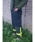Брюки Nomex Gore-Tex противопожарной службы Бундесвера, синие, б/у