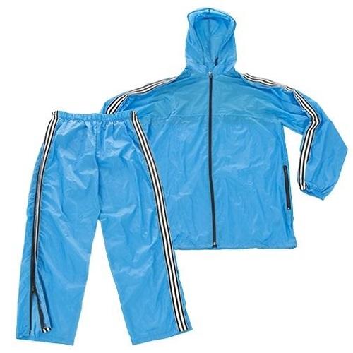 Костюм спортивный влагозащитный армии Италии, светло-синий, новый