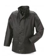 Куртка мембранная с подстёгом полиции Великобритании, чёрная, б/у хорошее состояние