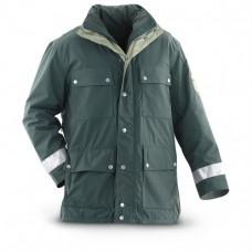 Куртка Gore-Tex зимняя полиции Германии, темно-зеленая, новая