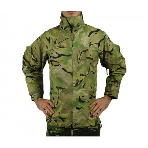 "Куртка мембранная Gore-Tex ""Lightweight Waterproof"" армии Великобритании, MTP, б/у"
