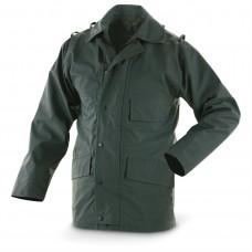 Куртка мембранная  с подстёгом полиции Великобритании, тёмно-зелёная, б/у хорошее состояние