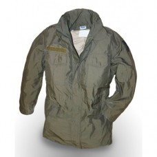 Куртка мембранная со съёмной подстёжкой М-65 армии Австрии, олива, б/у