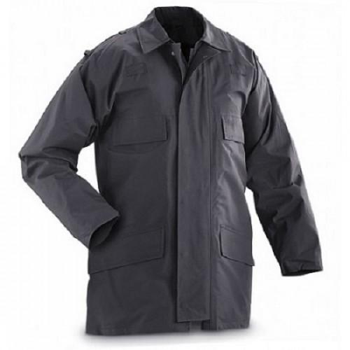 Куртка непромокаемая с подстёгом полиции Великобритании, чёрная, как новая