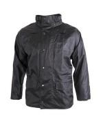 Непромокаемая куртка службы столичной полиции Великобритании, черная, б/у