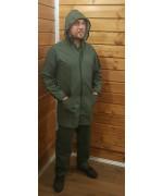 Непромокаемый костюм армии Бельгии, олива, новый