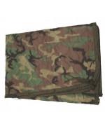 Одеяло-подстег под пончо армии США, Woodland, б/у