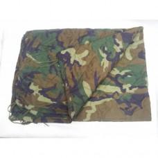 Одеяло-подстег под пончо армии США, Woodland,  как новый