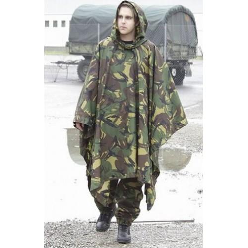 Пончо армии Голландии, DPM, б/у хорошее состояние