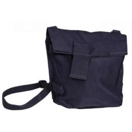Уценка сумка под противогаз армии Голландии, тёмно-синяя, б/у