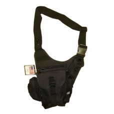 Мультисумка для плечевого ношения, чёрная, новая