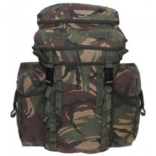 """Рюкзак Bergen """"Patrol"""" 30 литров c боковыми карманами армии Великобритании, DPM, б/у 2 категория"""