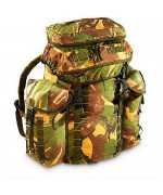 """Рюкзак Bergen """"Patrol"""" 30 литров c боковыми карманами армии Великобритании, DPM, б/у"""