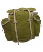 Рюкзак на раме армии Норвегии, олива, б/у