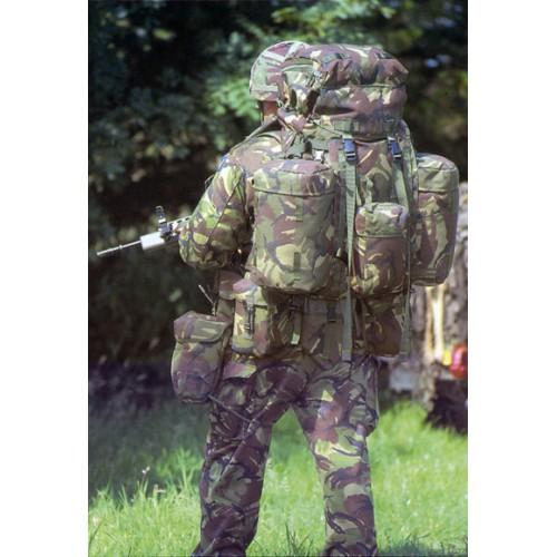 """Рюкзак """"PLCE LONG"""" Bergen 90 литров c боковыми карманами армии Великобритании, DPM, б/у"""