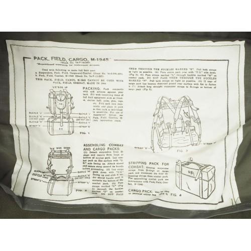 Сумка М-1945 армии США, олива, новая