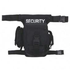 Сумка на пояс hip bag, Security, MFH, чёрная, новая