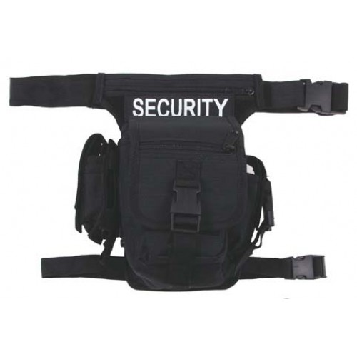 Сумка на пояс hip bag, Security, MFH, чёрная, новая
