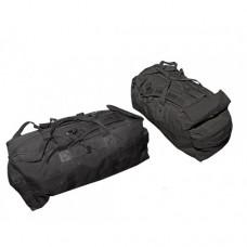Сумка-рюкзак армии Великобритании, чёрная, б/у